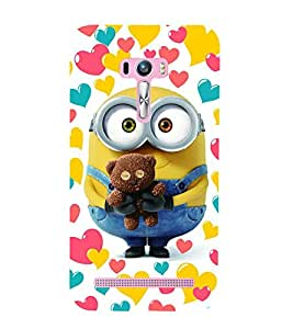 Vizagbeats Minion Holding Teddy Back Case Cover for Asus Zenfone Selfie::Asus Zenfone Selfie ZD551KL