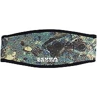 Scuba Choice Adult Comfort Neoprene Mask Strap Cover, Green Camo