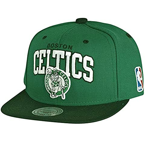 Mitchell & Ness NBA Boston Celtics Team Arch Snapback Cap NA80Z Kappe Basecap