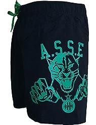 Short de Bain Plage ASSE - Collection officielle AS SAINT ETIENNE - Football club Ligue 1 - Taille adulte