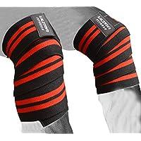 Gewicht Lifting Knie Packungen. Robuste, elastische Kniebandage für Kniebeugen, Powerlifting, Olympischen Lifting... preisvergleich bei billige-tabletten.eu