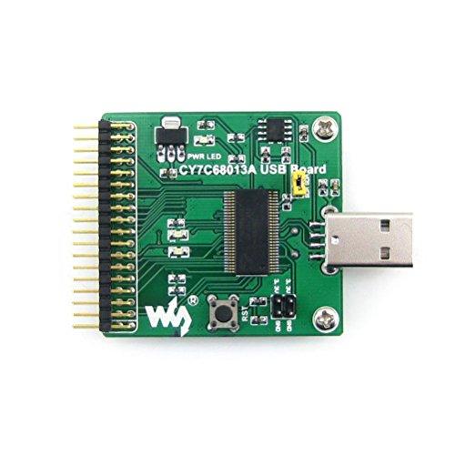 Foxnovo Modulo di sviluppo Waveshare CY7C68013A scheda USB (tipo A)