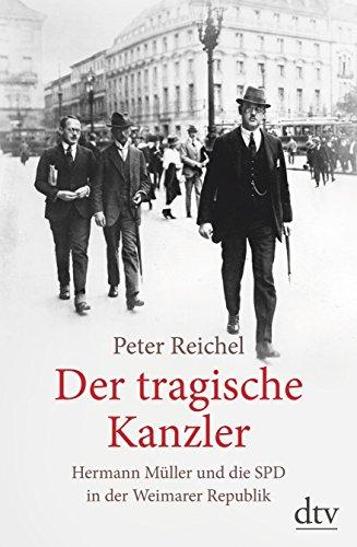 Buchseite und Rezensionen zu 'Der tragische Kanzler' von Peter Reichel
