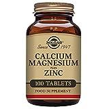 Solgar, Calcium Magnesium Plus Zinc Tablettes, 100