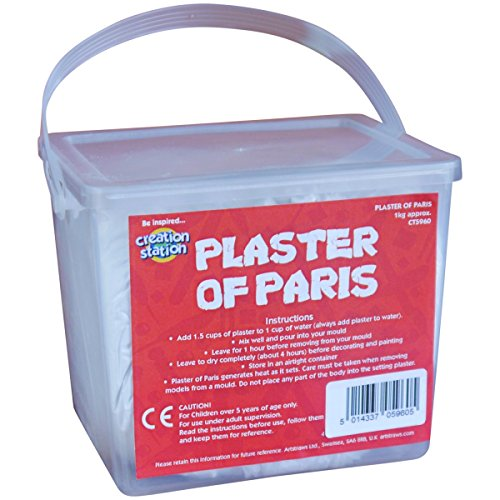 Paris Kostüm - Creation Station Stuckgips, 1 kg