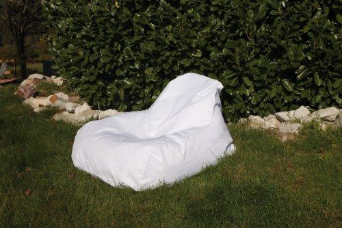 Sitzsack Chillout Bag Sessel weiss