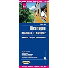 Reise Know-How Landkarte Nicaragua, Honduras, El Salvador (1:650.000): world mapping project