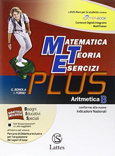 Matematica teoria esercizi. Plus. Aritmetica. Con e-book. Con espansione online. Con DVD. Per la Scuola media: 2