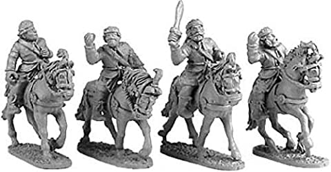 Xyston 15mm: Mountain Indian Light Horse (4) by Xyston Miniatures
