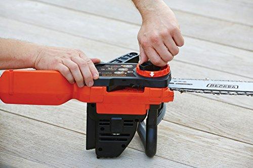 Black+Decker Li Ion Akku Kettensäge 36V GKC3630L20 mit Akku und Ladegerät/Ideal für Holz- & Gartenarbeiten/30 cm Schwertlänge - 7