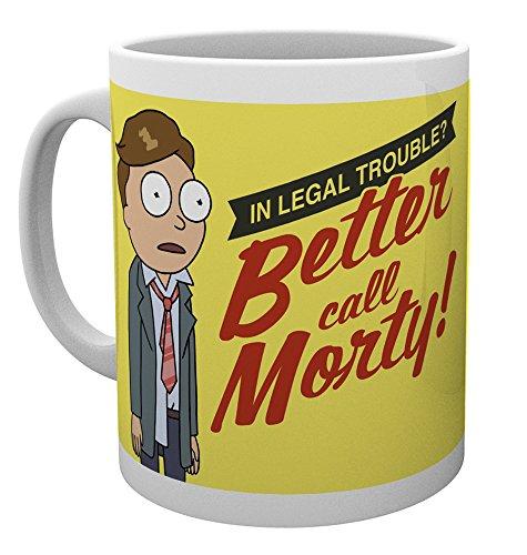 GB Eye LTD, Rick y Morty, Better Call Morty, Taza