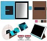 reboon Hülle für Blaupunkt Endeavour 1000 HD Tasche Cover Case Bumper | in Braun | Testsieger