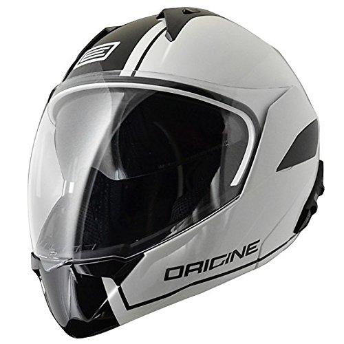 Preisvergleich Produktbild Helm Modular öffnen Convertible Gr. XS 53 – 54 cm Doppel Visier ULTRA Leicht Ursprungs Riviera Dandy weiß zugelassen