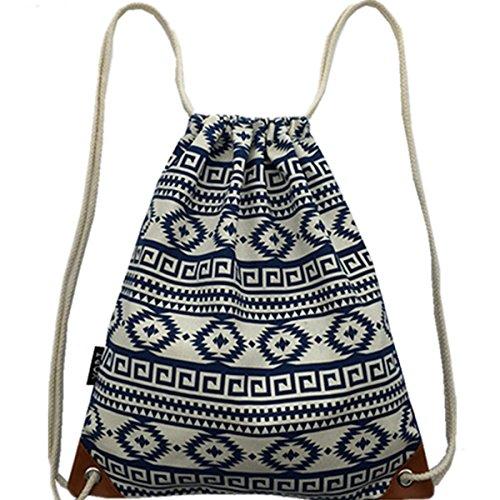 Imagen de bolsas de cuerdas mujer  saco tela lona moda bolsas deporte ocio viaje