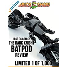 Review: Lego DC Comics The Dark Knight Batpod Review Limited 1 of 1,000