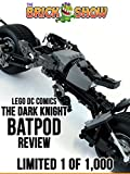 Review: Lego DC Comics The Dark Knight Batpod Review Limited 1 of 1,000 [OV]
