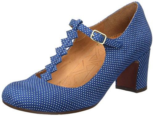 Chie Mihara Jacare30, Damen Pumps, Blau Blau (punti Navy)