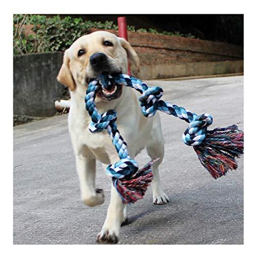 Dog forte corda giocattoli per cani di taglia grande, cane masticare giocattolo corda Tug for aggressive Chewers