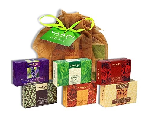 vaadi herbals assorted soaps gift pack, 450g Vaadi Herbals Assorted Soaps Gift Pack, 450g 518qt yCmXL home page Home Page 518qt yCmXL