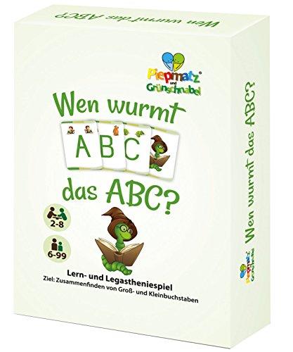 WEN WURMT DAS ABC? - Das Kartenspiel zur Vertiefung des Alphabets