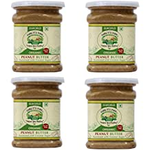 ELWORLD AGRO & ORGANIC FOOD PRODUCTS Organic Peanut Butter (250 g) - Pack of 4
