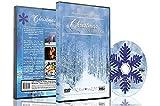 Weihnachten DVD - Weihnachtssammlung Videos von fallendem Schnee, Weihnachtsbeleuchtung und Kaminfeuer