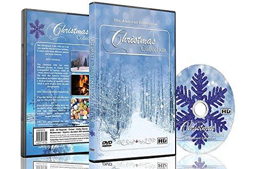 Weihnachten DVD - Weihnachtssammlung Videos von fallendem Schnee, Weihnachtsbeleuchtung und Kaminfeuer (Ein Lied Von Eis Und Feuer Kunst)