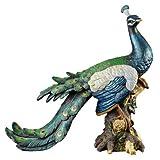 'Interpret Design Toscano Palace Pfau Garten Statue