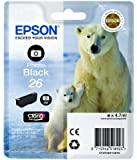 Epson Polar Bear 26 Ink Cartridge - Photo Black
