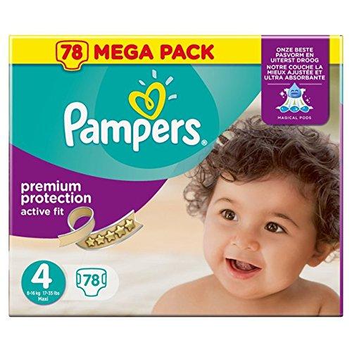 Preisvergleich Produktbild Pampers Active Fit Size 4 (7-18kg) Mega Box Maxi x 76 per pack
