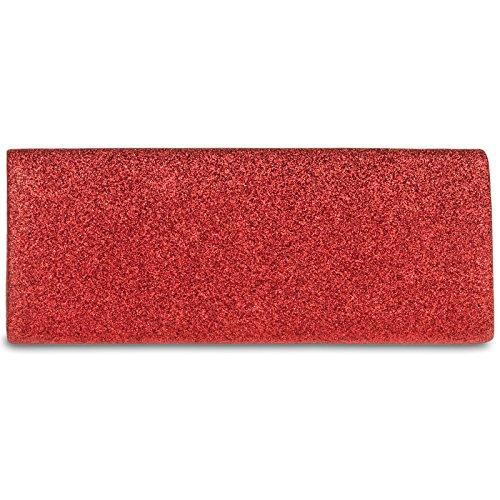 CASPAR Fashion, Poschette giorno donna Rot