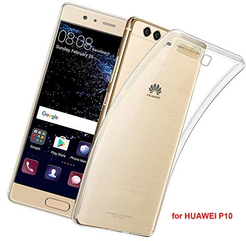 LUCKLYSTAR-Custodia-per-Huawei-P10-Slim-Trasparente-TPU-Silicone-Custodia-anti-rasguo-anti-golpes-Protective-Case-per-Huawei-P10-1pcs