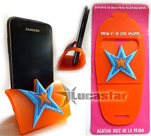 Agatha Ruiz De La Prada Halterung für Handy/MP3-Player Stern (Prada Handy)