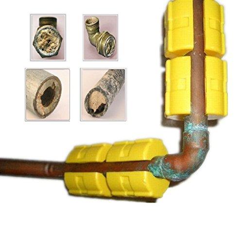 4x Magnetische Wasser Klimaanlage Kalk Entferner Wisch entkalkt - Salz-wasser-conditioner