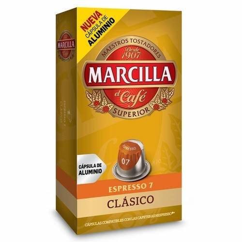 Cápsulas Nespresso Marcilla Clásico (10 cápsulas)