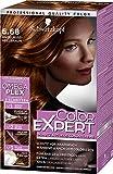 Schwarzkopf Color Expert Intensiv-Pflege Color-Creme, 6.68 Haselnuss Hellbraun Stufe 3, 3er Pack (3 x 167 ml)