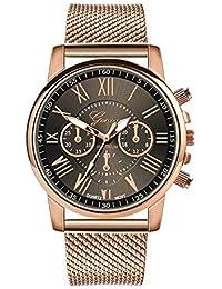 Silicone Strap Quartz Watch Casual Retro Nostalgic Style Fashion Creative Design Simple Watch Luxury Style Simple