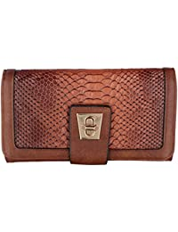 Gio Collection Women's Brown Wallet - B07CPZ2955