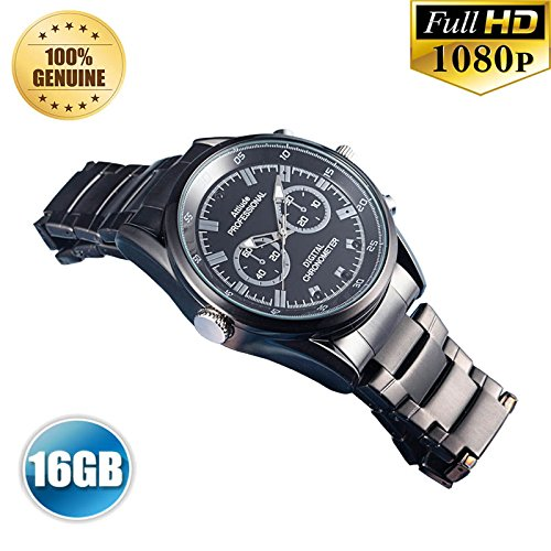 PANSIM 16GB 1080P HD Hidden Video Watch Camera Spy Night vision DVR Cam  available at amazon for Rs.12500