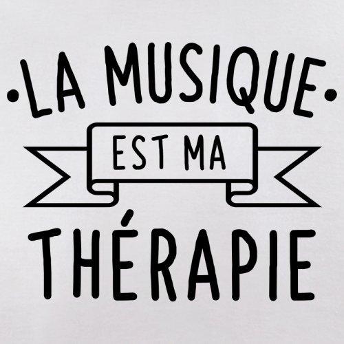 La musique est ma thérapie - Femme T-Shirt - 14 couleur Blanc