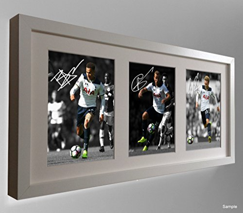 Signed-White-201617-Dele-Alli-Harry-Kane-Christian-Eriksen-Tottenham-Spurs-Autographed-Photo-Picture
