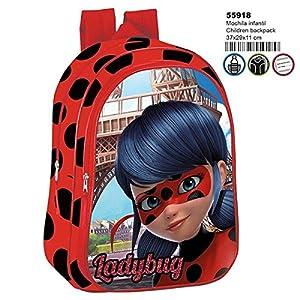 518r0LrASzL. SS300  - Ladybug Mochila Infantil Escolar, niña.