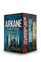 ARKANE Thriller Boxset 2: One Day in Budapest, Day of the Vikings, Gates of Hell (ARKANE Boxset)