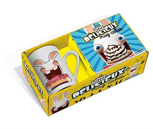 Mug cake The Lapins Crétins : Coffret avec un mug et un livre de recettes