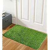 Kuber Industries™ 45 MM Arificial Grass for Floor, Soft and Durable Plastic Natural Landscape Garden Plastic Door Mat, Artificial Grass(75 cm x 45 cm x 1.5 cm) Grasv02