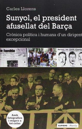 El 6 d'agost de 1936, pocs dies després de l'esclat de la Guerra Civil, Josep Sunyol i Garriga, un dels homes més populars de la Catalunya republicana, desapareixia sense deixar rastre. Editor, president del F.C. Barcelona i eminent polític, Sunyol t...