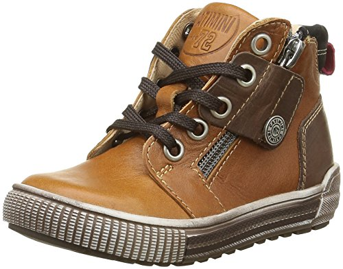 Catimini Jungen Caiman Sneaker Braun - Marron (14 Vtu Camel Dpf/Hippy)