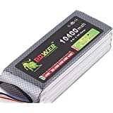 Kail Original alta capacidad Lion Power 4S Lipo Battery 14,8 V 10400 mAh 25 C RC heilecopter coche barco 4S 10000 mAh recargable