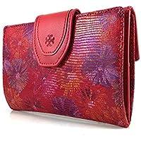 Geldbörse damen handmade Spain, Frauen Brieftasche, damen portemonnaie, damen geldbeutel, Casanova marke, gemacht aus haut, Ref. 22514 Rot