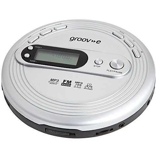 groov-e-gvps210-retro-series-personal-cd-player-with-radio-mp3-playback-and-earphones-silver